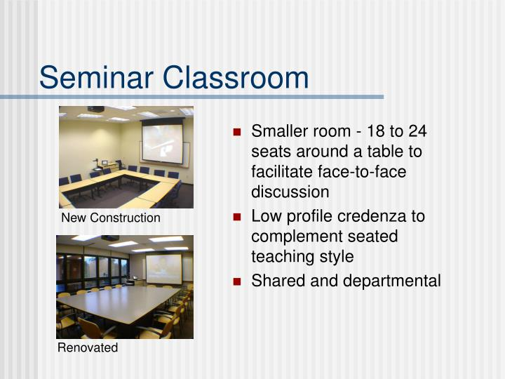 Seminar Classroom