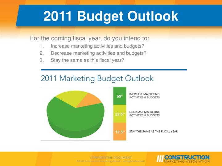 2011 Budget Outlook