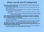 direct sound and envelopment1