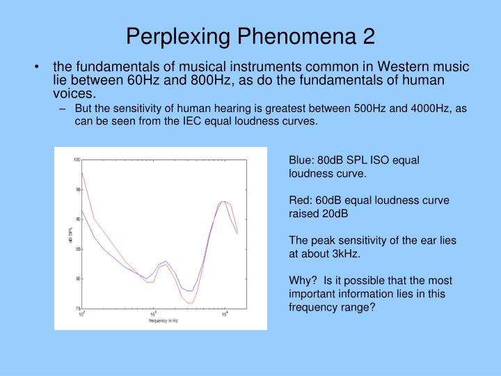 Perplexing Phenomena 2