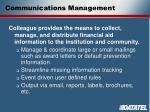 communications management1