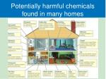 potentially harmful chemicals found in many homes