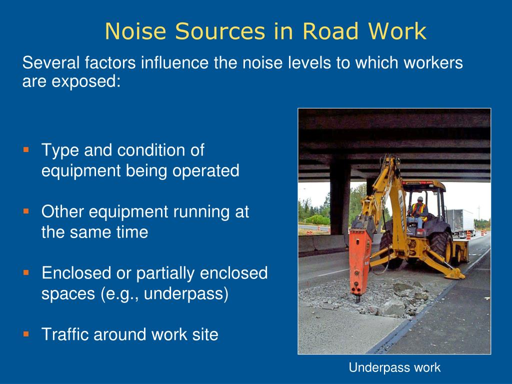 PPT - Noise in Road Construction PowerPoint Presentation