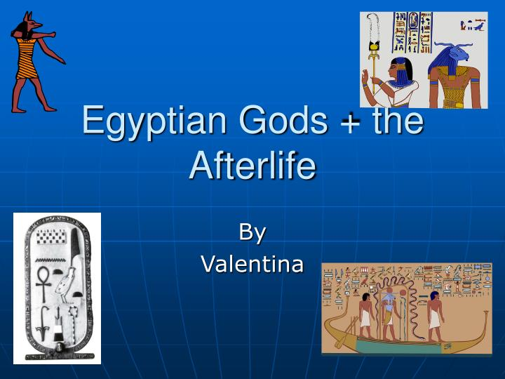 egyptian gods the afterlife n.