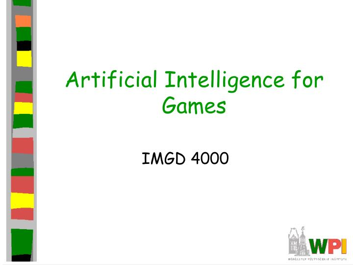 artificial intelligence for games n.