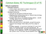 common game ai techniques 3 of 4