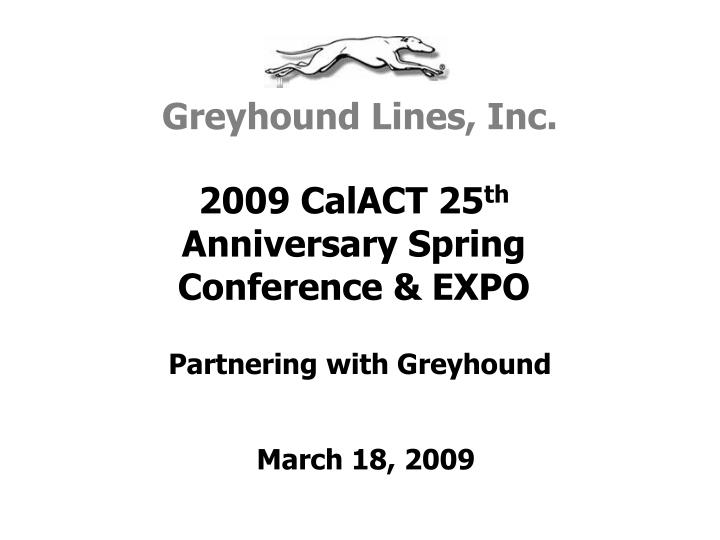 partnering with greyhound n.
