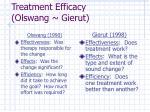 treatment efficacy olswang gierut