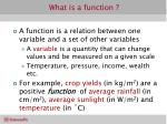 what is a function1