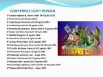 conferencia scout mundial