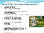 moot scout mundial participantes pa ses