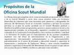 prop sitos de la oficina scout mundial