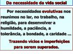 da necessidade da vida social2