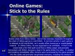 online games stick to the rules115