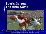 sports games the meta game72