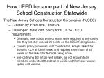 how leed became part of new jersey school construction statewide1