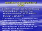 definitions of exacerbations of copd3