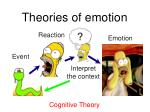 theories of emotion9