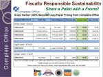 fiscally responsible sustainability