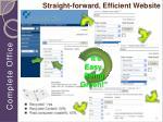 straight forward efficient website