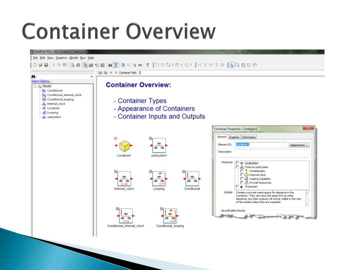 Container Overview