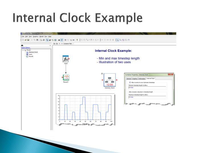 Internal Clock Example