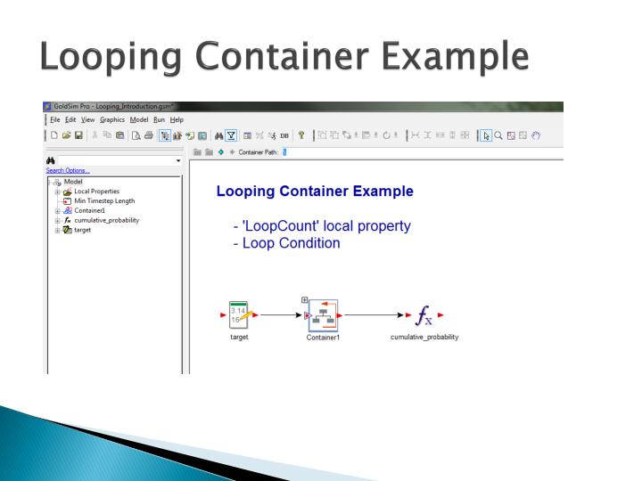 Looping Container Example