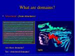 what are domains1
