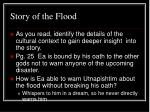 story of the flood