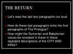 the return8
