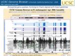 ucsc genome browser university california santa cruz usa http genome ucsc edu1