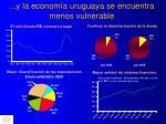 y la econom a uruguaya se encuentra menos vulnerable