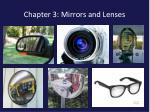 chapter 3 mirrors and lenses