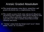 aretaic graded absolutism1