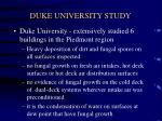 duke university study