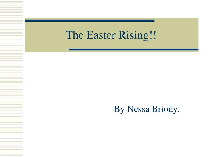 the easter rising n.