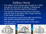 saltbox home
