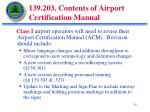 139 203 contents of airport certification manual1