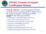 139 203 contents of airport certification manual7