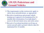 139 329 pedestrians and ground vehicles