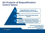 eu projects of requalification centre opava