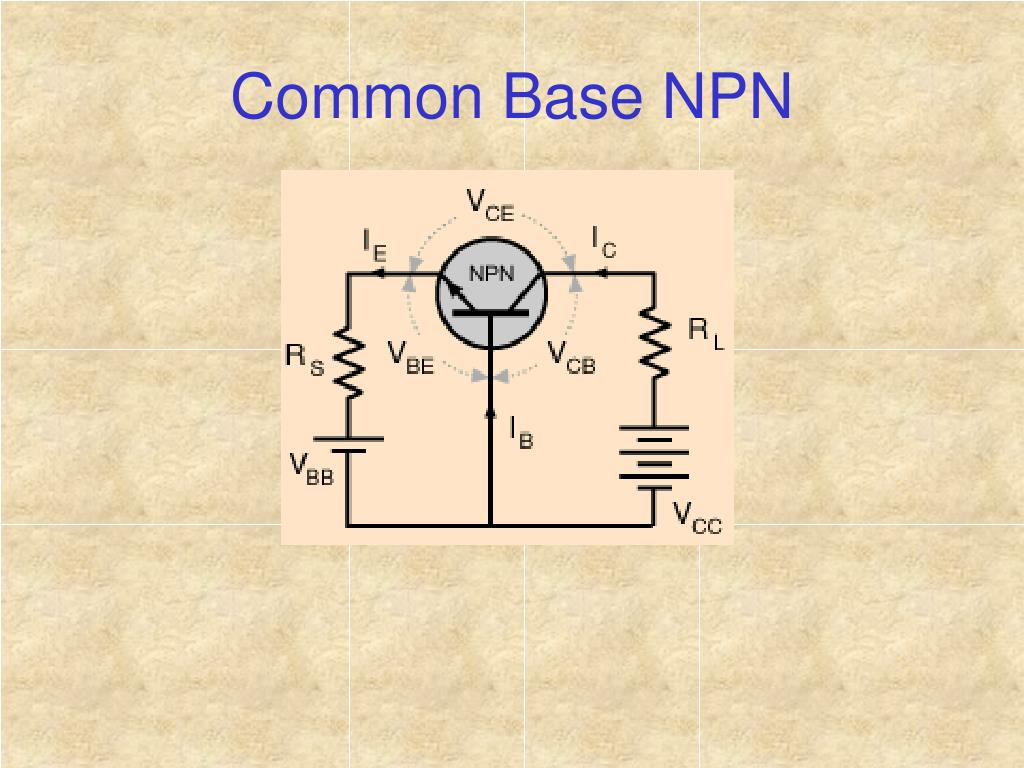 Common Base NPN