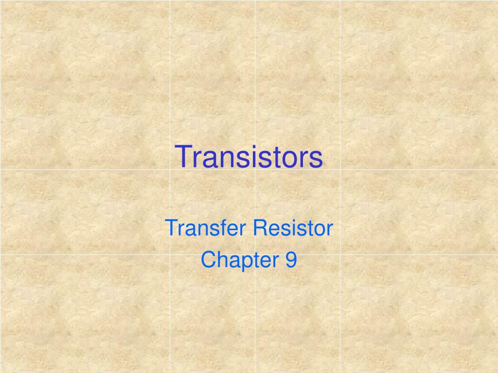 transistors l.