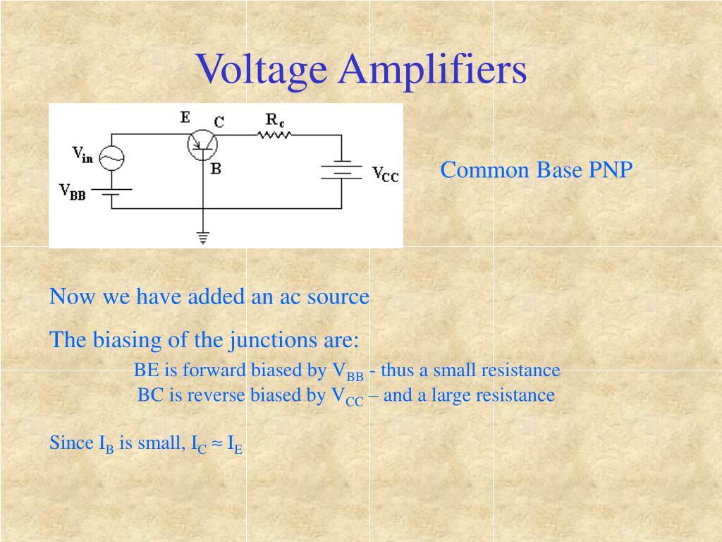 Voltage Amplifiers