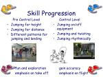 skill progression