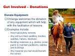 get involved donations