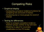competing risks1