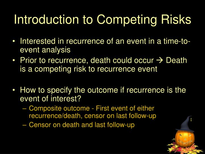 Introduction to Competing Risks