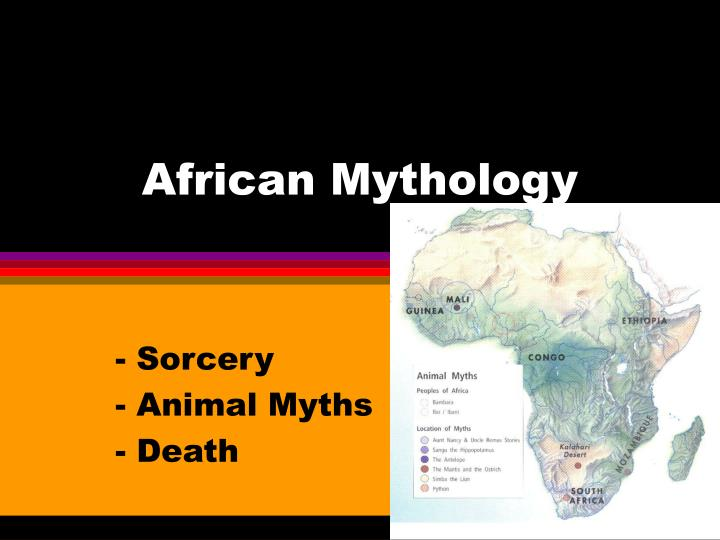 african mythology n.