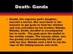 death ganda